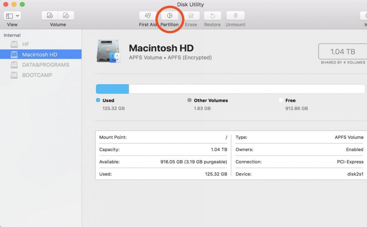 双系统+windows多分区+Mac多分区:简单 + 完满攻略